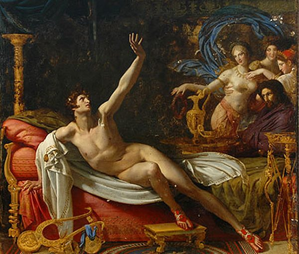 "Antoine Dubost ""The sword of damocles"", 1804"