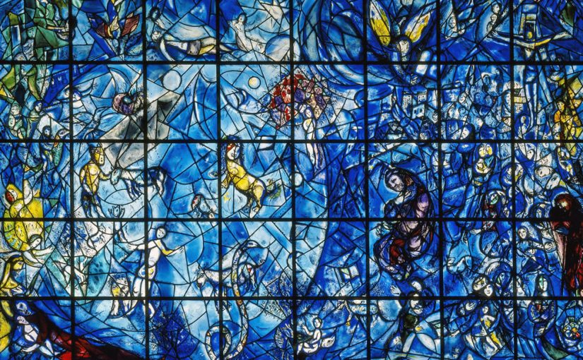 "Chagall, ""Peace"", United Nations, New York"
