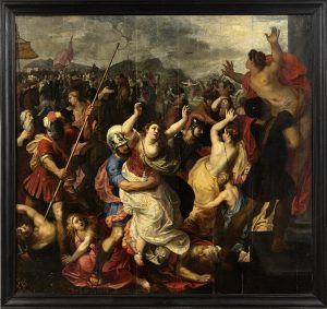 Flemish XVII Century oil painting